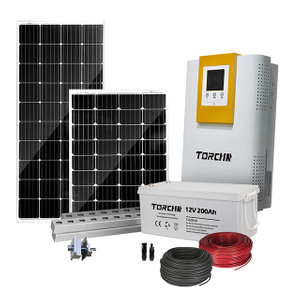China Manufacturer Complete 5kw Solar Power System Home Power System